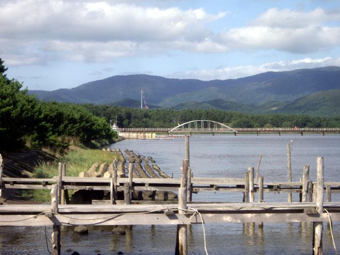 十三湖 と 日本海をチラッと♪_a0136293_1549441.jpg