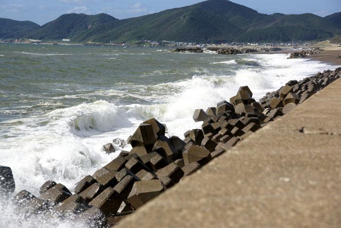 十三湖 と 日本海をチラッと♪_a0136293_15495648.jpg