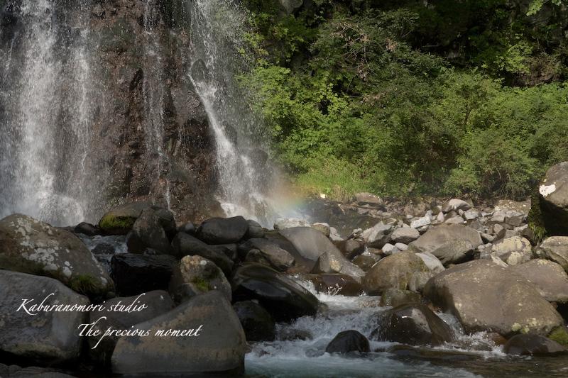 09/8/28   虹も出てた千ヶ滝_c0137403_1847437.jpg