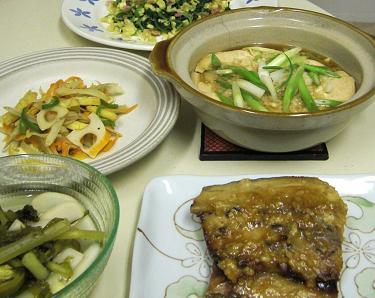 鯖の味噌煮。_c0119140_13142386.jpg