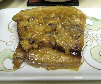 鯖の味噌煮。_c0119140_13162928.jpg
