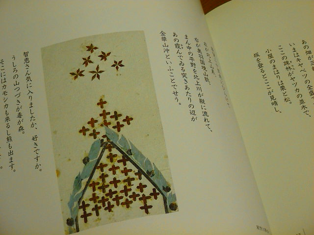 智恵子さんの切り絵。_e0060555_1950598.jpg