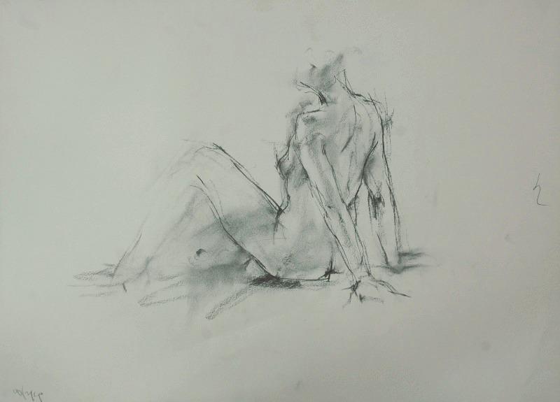 裸婦素描_f0159856_950427.jpg