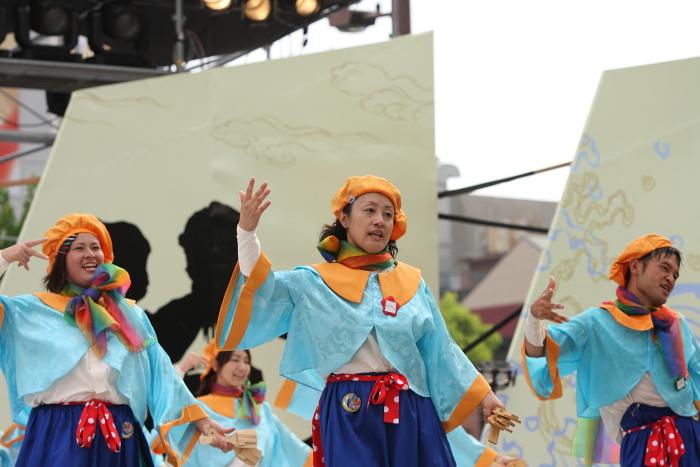 第56回よさこい祭り(2009) 全国大会 Nalko連おどりや その2_a0077663_19433850.jpg