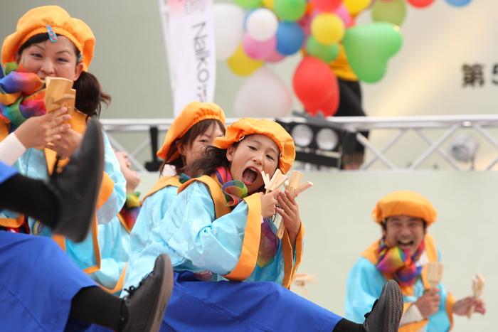 第56回よさこい祭り(2009) 全国大会 Nalko連おどりや その2_a0077663_19434677.jpg