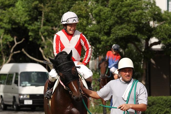 2009年8月10日(月) 高知競馬 2R D8 記者選抜 パドック_a0077663_79429.jpg