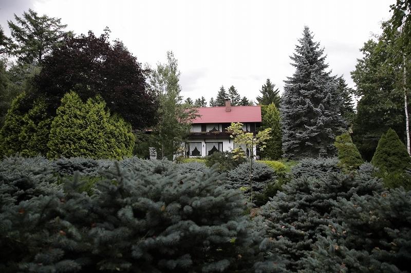 コニファーとブンゲンストウヒ 真鍋庭園 北海道遺産にしたい_d0080785_1055724.jpg