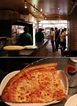 ニューヨークの究極B級グルメ $1ピザ (2 Bros Pizza編)_b0007805_1483386.jpg