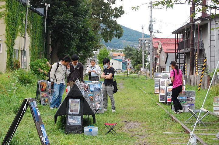小樽・鉄路・写真展2009 ~初日~8月31日_d0140869_053317.jpg
