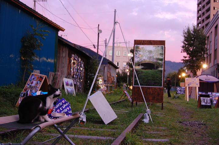 小樽・鉄路・写真展2009 ~初日~8月31日_d0140869_14526.jpg