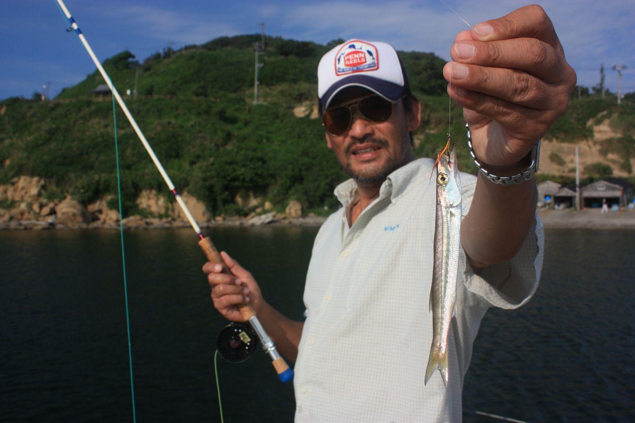 カマス釣り_e0150433_1344650.jpg