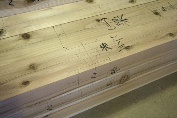 桜台の家:軸組の墨付け・刻み_e0054299_91896.jpg