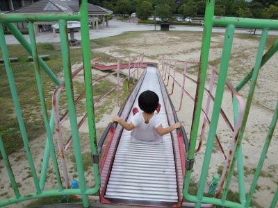 マコちゃん、大きい公園に行く!_e0166301_552262.jpg