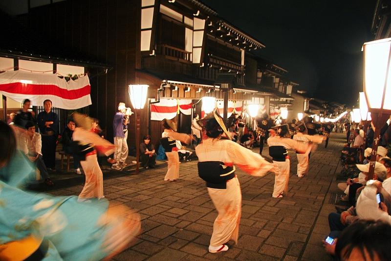 おわら風の盆 09年 諏訪町通り_c0196076_1143556.jpg