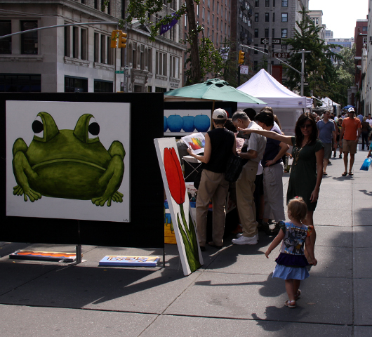 老舗の野外アート展示会、Outdoor Art Exhibit_b0007805_13374789.jpg