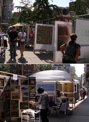 老舗の野外アート展示会、Outdoor Art Exhibit_b0007805_1338914.jpg
