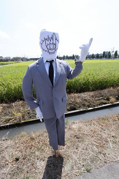 かかし大賞(?・¥・?)           川越のかかしー1_a0107574_19555535.jpg