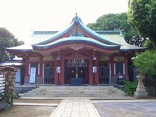 品川神社 (十社巡り 9)_c0187004_21273725.jpg