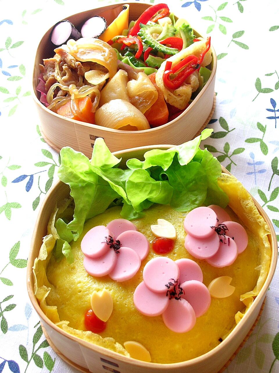 梅の花のお弁当 _b0171098_9494960.jpg