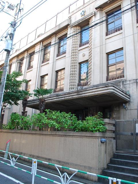 東京都渋谷区立広尾小学校(昭和モダン建築探訪)_f0142606_23432281.jpg