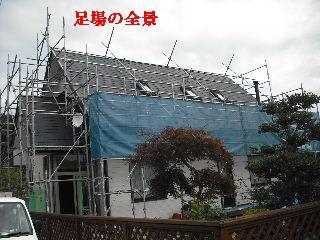 屋根塗装・初日_f0031037_2122202.jpg