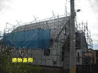 屋根塗装・初日_f0031037_21224111.jpg