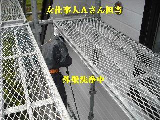 屋根塗装・初日_f0031037_21264178.jpg