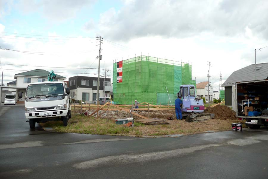 「桜台の家」 基礎工事中!_f0150893_17502013.jpg