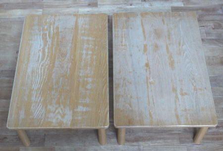 テーブル塗りなおし_c0138410_12463991.jpg