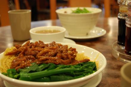 中華粥のおいしい季節になりました。 「粥麺館」_d0129786_1411445.jpg