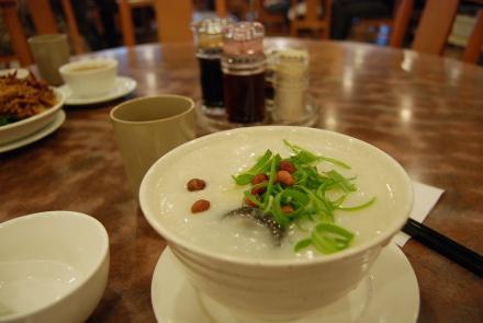 中華粥のおいしい季節になりました。 「粥麺館」_d0129786_14162483.jpg