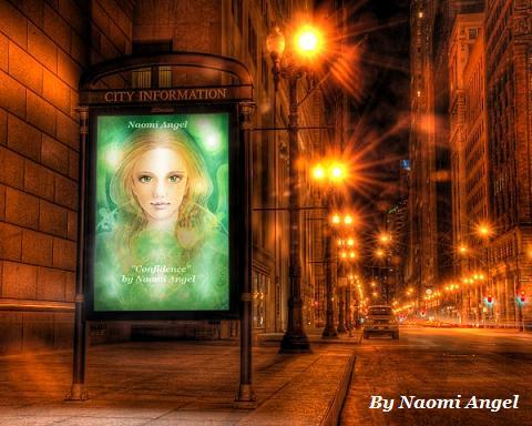 街にあふれる天使の絵♪♪_f0186787_15223372.jpg