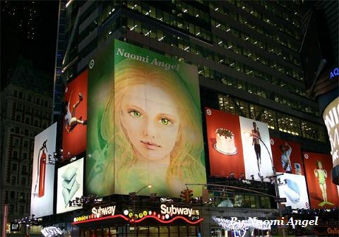 街にあふれる天使の絵♪♪_f0186787_15224947.jpg