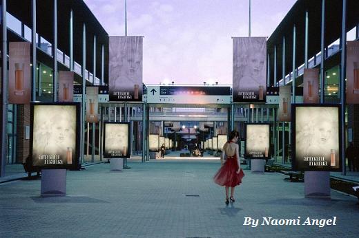 街にあふれる天使の絵♪♪_f0186787_15232735.jpg