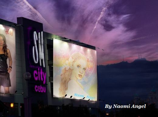 街にあふれる天使の絵♪♪_f0186787_1523787.jpg
