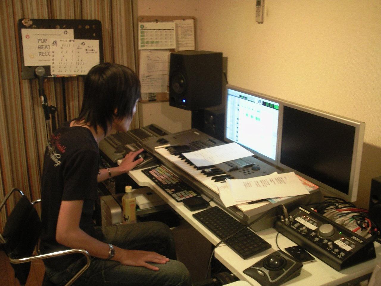 \'09 09月12日 レコーディング終了♪_e0133246_234412.jpg
