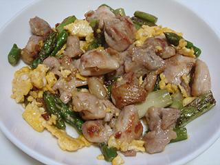 鶏もも肉とアスパラのマヨソテー_c0025217_12555665.jpg