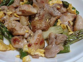 鶏もも肉とアスパラのマヨソテー_c0025217_125612.jpg