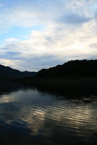 本栖湖のしずかな夜明け_c0107829_9144856.jpg