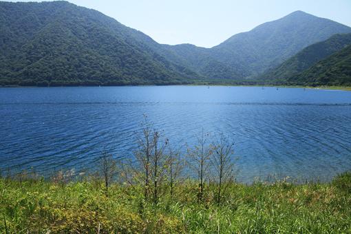 本栖湖のしずかな夜明け_c0107829_9152194.jpg