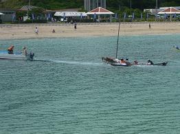 帆かけサバニ_d0100638_1559495.jpg