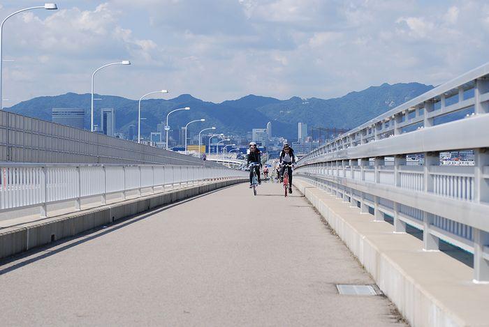 ロード部グルメライド 播磨自転車道~三宮~ポーアイ~自宅_e0053660_16382015.jpg