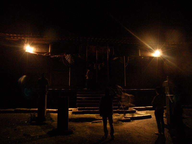 夜のガイドのひとコマ(夜の早池峰神社編)_f0075075_5473315.jpg