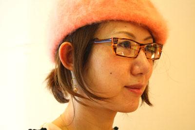 帽子の秋、メガネの秋_f0208675_19101490.jpg