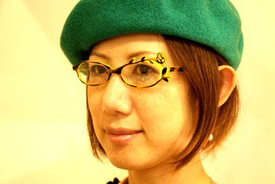 帽子の秋、メガネの秋_f0208675_19134921.jpg