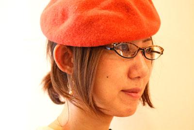 帽子の秋、メガネの秋_f0208675_1916727.jpg