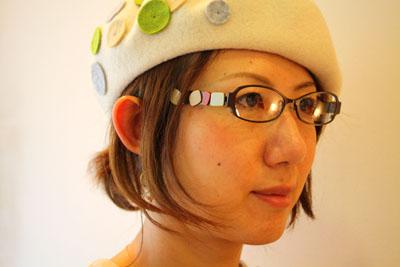 帽子の秋、メガネの秋_f0208675_1981256.jpg