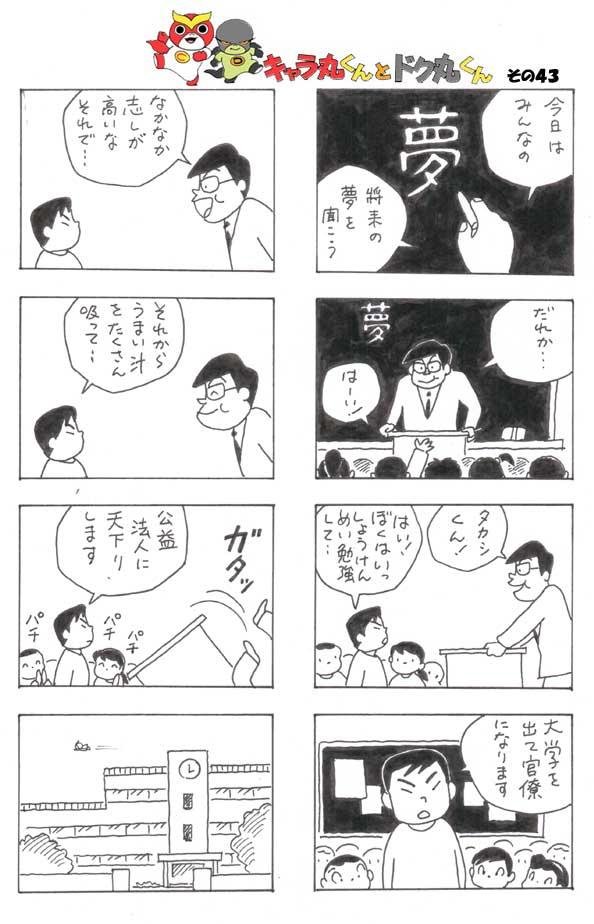 8コマ漫画キャラ丸くんとドク丸くん_b0031953_042362.jpg