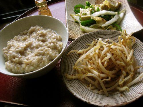 とろとろトロロの炒め蕎麦_e0110659_9372281.jpg
