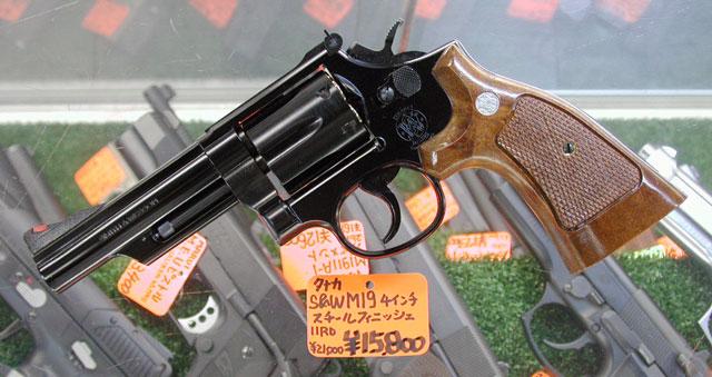 "タナカ ガスガン S&W M60 3\""/S&W M629 3\""/W&W M19 4\"" 入荷 _f0131995_1652129.jpg"